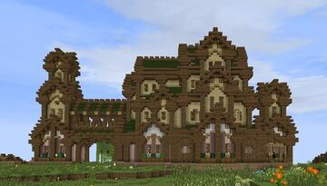 Rohan manor Minecraft Map & Project