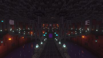 Chains Nether Hub Minecraft Map & Project