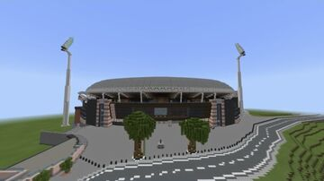 Adelaide Oval Minecraft Map & Project