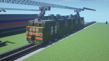Russian Railways   Soviet Railways   VL80 Electric Locomotive   ВЛ80   Minecraft Map & Project