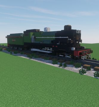 GWR 6000 Class Minecraft Map & Project