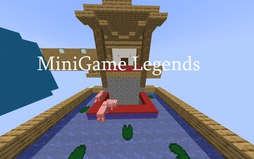 MiniGame Legends Minecraft Map & Project