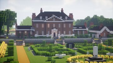Scottish Mansion (1:1 scale) Minecraft Map & Project