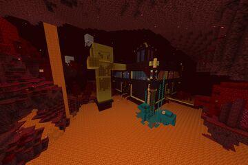 Piglin Hoard Minecraft Map & Project
