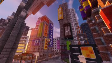 Tokyo city Minecraft Map & Project