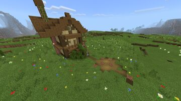 1800's style house Minecraft Map & Project