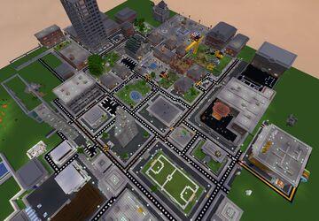ArthurAbel City v1 Minecraft Map & Project