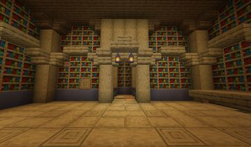 Haunted Library Escape *IMPOSSIBLE* Minecraft Map & Project