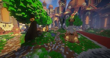 ⚔ Spawn Faction + Warzone 300x300 For Sell ⚔ [5$] Minecraft Map & Project