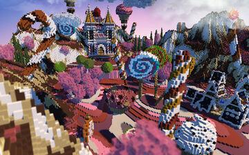 🍬CANDY ARENA KITPVP🍬► PHOENIXBUILDS Minecraft Map & Project