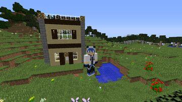 casa rustica Minecraft Map & Project