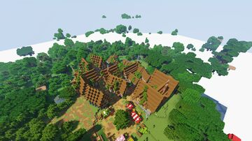 Medieval Village (1.15.2) Minecraft Map & Project