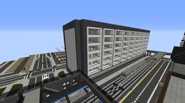 Transition Apartment Building Minecraft Map & Project