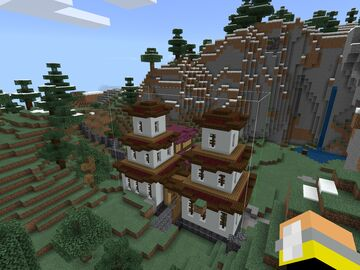 Oriental Fantasy Village Minecraft Map & Project