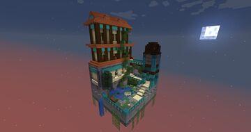 PMC Chunk Challenge: The Warped Garden Minecraft Map & Project