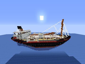 SS. Tomaric (1919) Minecraft Map & Project