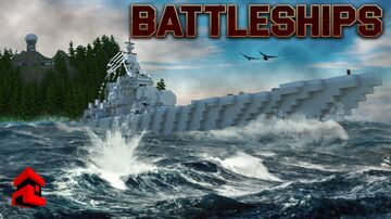 Battleships Interactive Gamemode Minecraft Map & Project