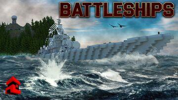 Battleships Interactive Gamemode Minecraft Map & Project