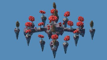 Skywars Mushroom Map 1.8 + Download!! Minecraft Map & Project