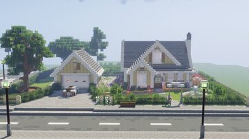 Stunning Hazel View Residence   Interior Decoration Contest Entry Minecraft Map & Project