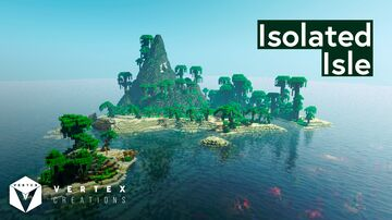 Isolated Isle Minecraft Map & Project