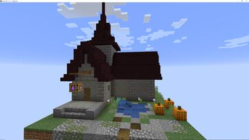Medieval Alchemy Shop Minecraft Map & Project