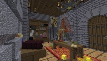 Alchemist's Workshop: Overscaled interior Minecraft Map & Project