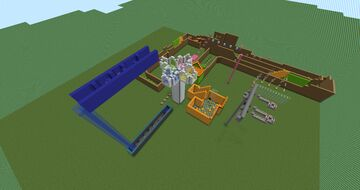 Multi-Level Parkour Minecraft Map & Project