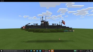 S.M.U. 10A Submarine - Minecraft World Minecraft Map & Project