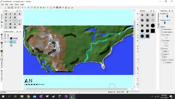 Us World painter map Minecraft Map & Project