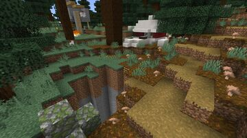 Crashed plane Minecraft Map & Project