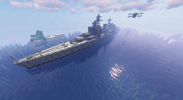 HMS Belfast (whit download) Minecraft Map & Project