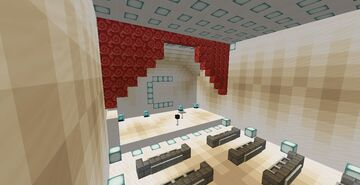 Comedy Club (Piston Doors, Music, Working Chairs, and more!) Minecraft Map & Project