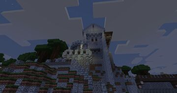 Barrack keep of my new castle build Minecraft Map & Project
