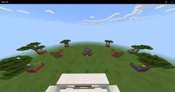Red vs Blue minecraft team skywars Minecraft Map & Project