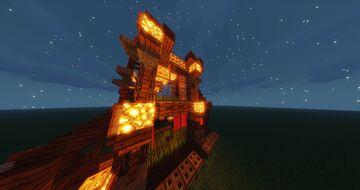 Small wheat farm Minecraft Map & Project