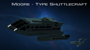 Star Trek Moore -Type Shuttlecraft (Kelvin Timeline) Minecraft Map & Project