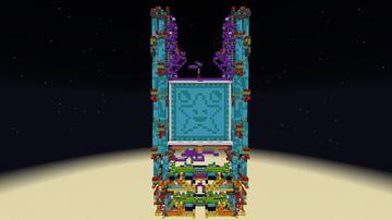 24x24 Gravity block door Minecraft Map & Project