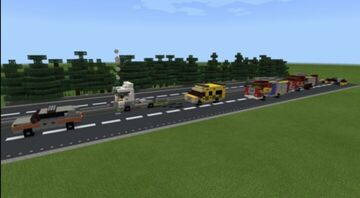 London emergency vehicle pack Minecraft Map & Project