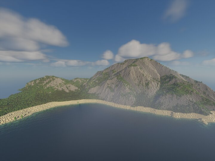 island main mountain