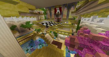 Building NO GAME NO LIFE in MINECRAFT Minecraft Map & Project