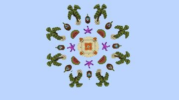 Skywars - BEACH [ FOR SALE ] Minecraft Map & Project