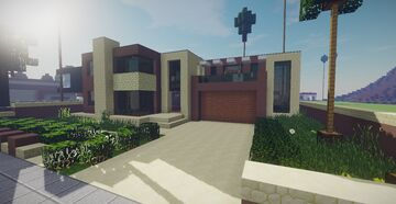 Modern House #29 Minecraft Map & Project