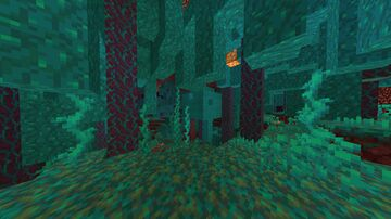 Nether Survival - Warped Forest Minecraft Map & Project