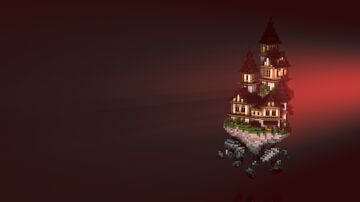 Floating Witch Island Minecraft Map & Project