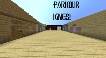 Parkour Kings Minecraft Map & Project