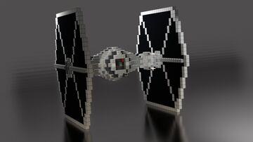 Star Wars - TIE Brute / Infiltrator | DOWNLOAD Minecraft Map & Project
