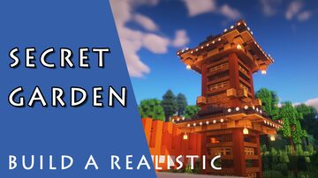 Secret Garden - Hardcore map remodeling Minecraft Map & Project
