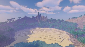 Survival Friendly Tropical Island! (1k/1k) Minecraft Map & Project