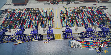 Industrial Port and Shipyard Minecraft Map & Project
